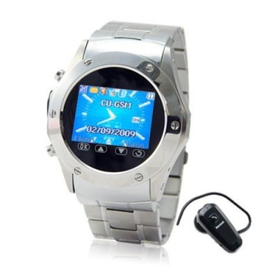 1.5 Inch TFT LCD Display Watch Phone with Quad Band and Touchscreen